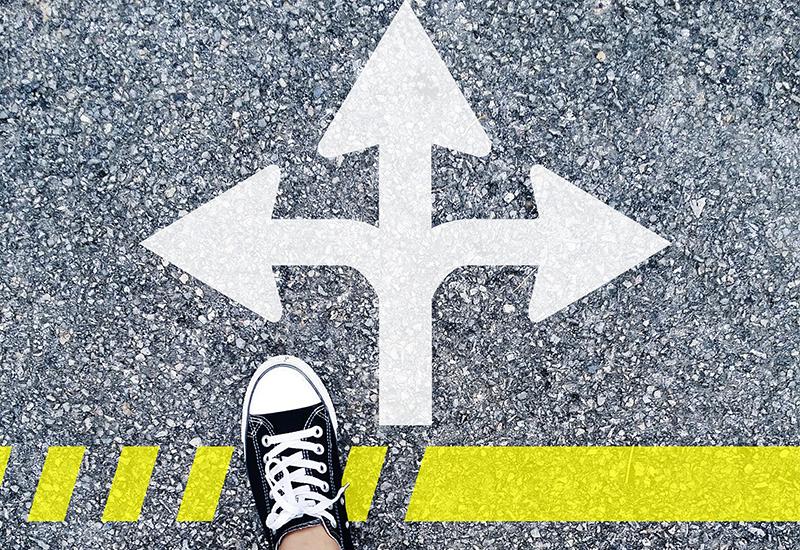 Bivio, scelta, scegliere nonostante la paura